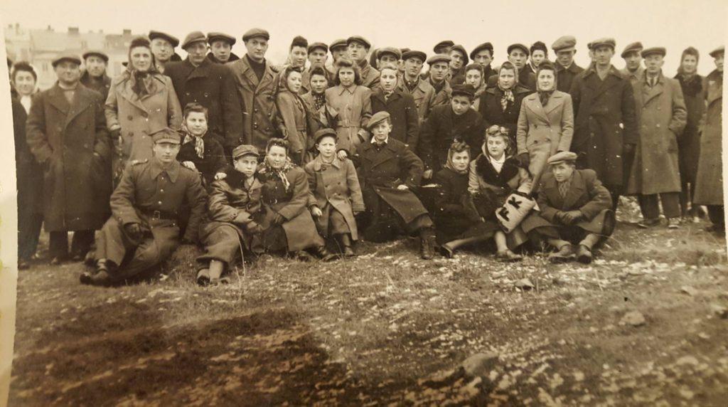 ostrowiec 1945 gathering